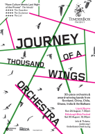 The Journey of a Thousand Wings Orchestra fused instruments and styles from all over the world. Read more here.
