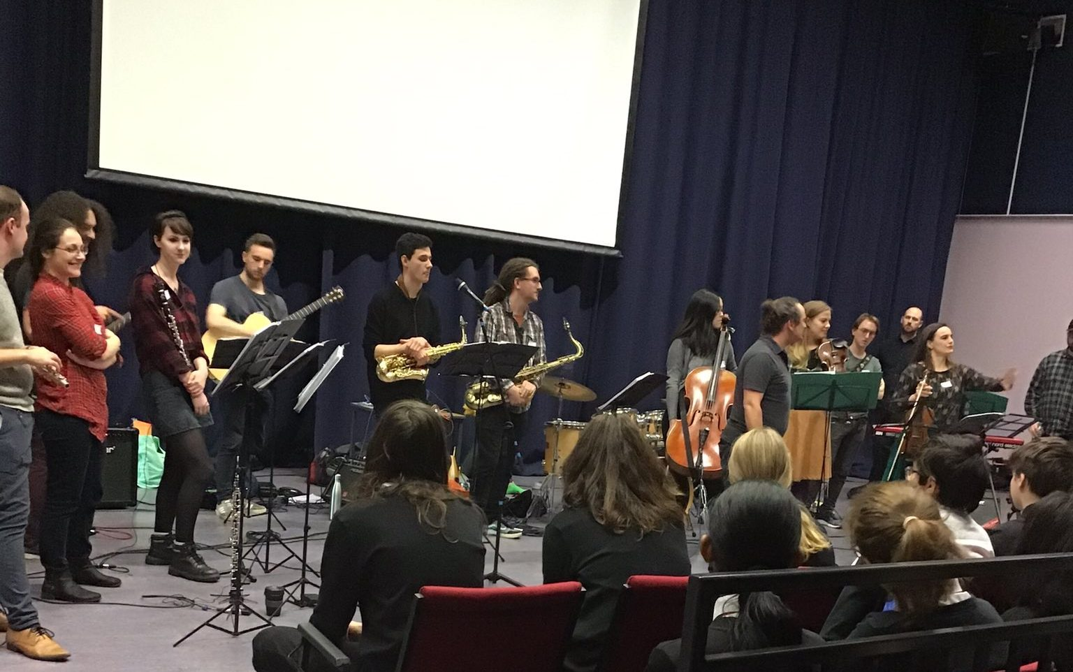 Tinderbox Orchestra sneak into Broughton High…